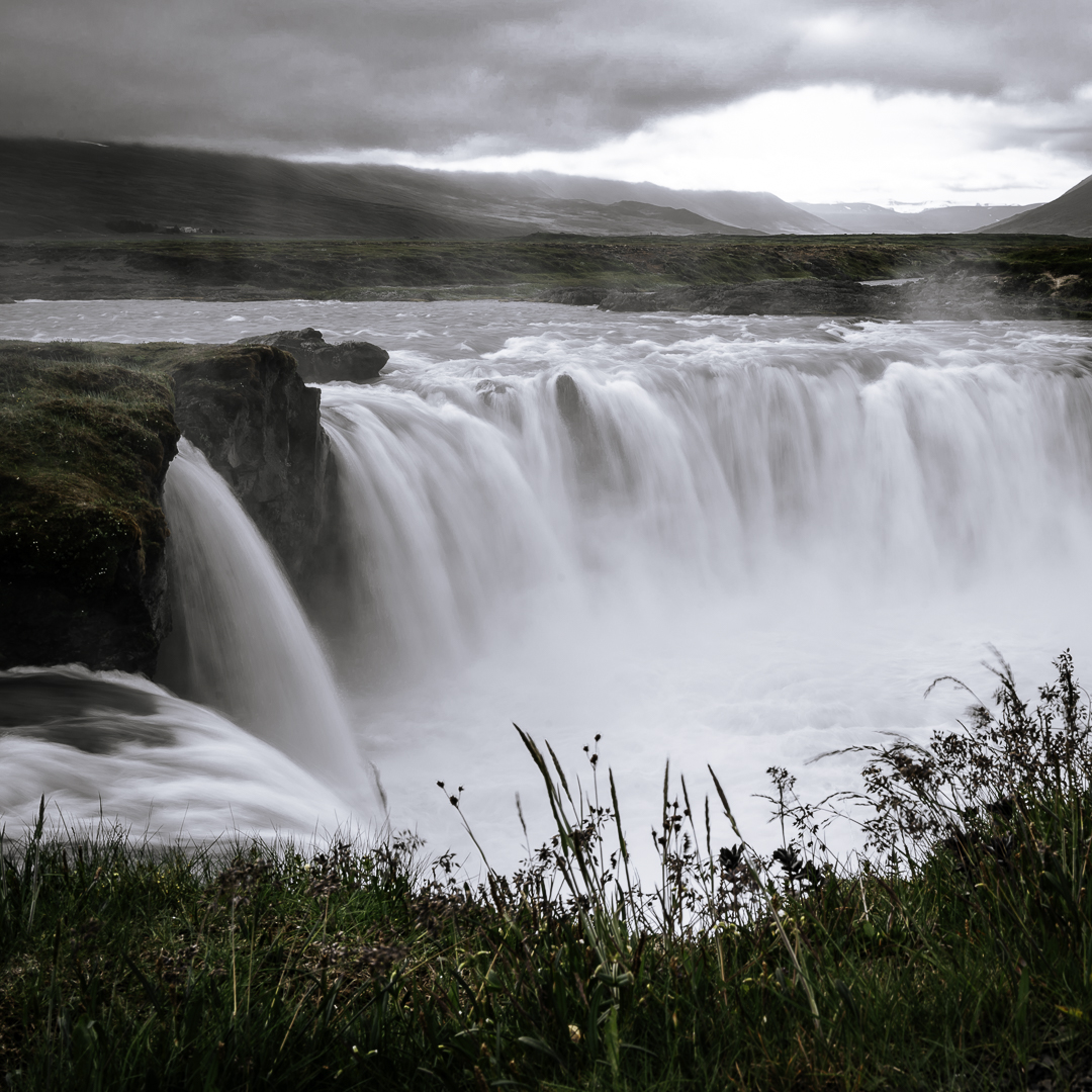 Godafoss in the north of Iceland